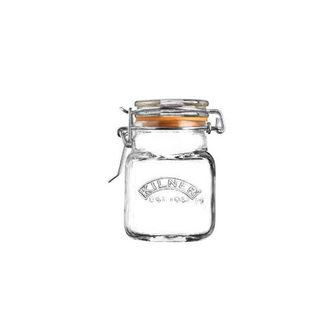 Kilner Mini 70ml Square Clip Top Herb & Spice Jar
